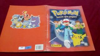 Album Pokemon Temos Que Pegar - Com Poster