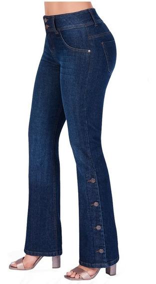 Cklass Dama Jeans Bootcut Azul Mezclilla Stretch 437-55