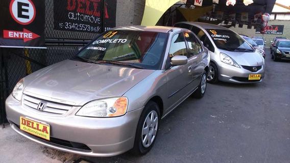 Civic Lx 2001 Automático