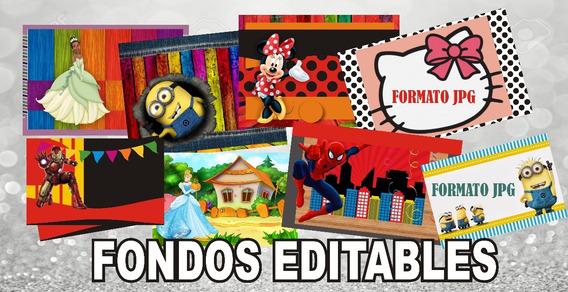 Invitaciones Fiestas Infantiles Modelos Editables