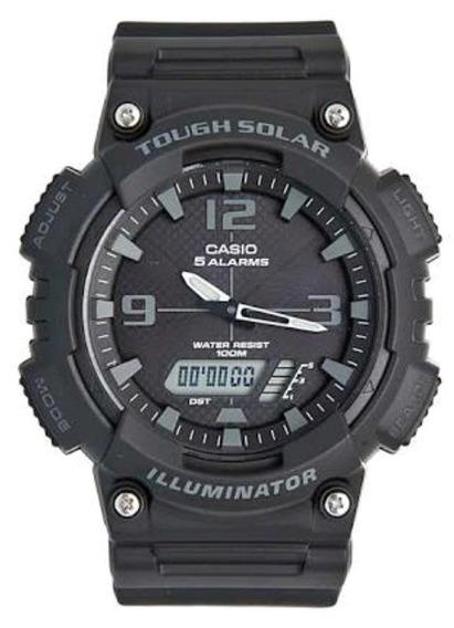 Relógio Casio Aqs810w1a2vdf Original Pretogarantia E Nota