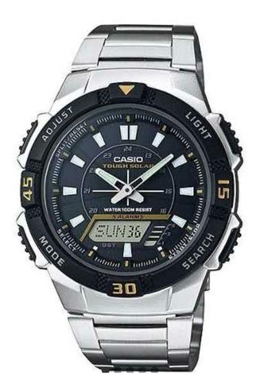 Relógio Masculino Casio Aq-s800wd-1evdf (original Vitrine)