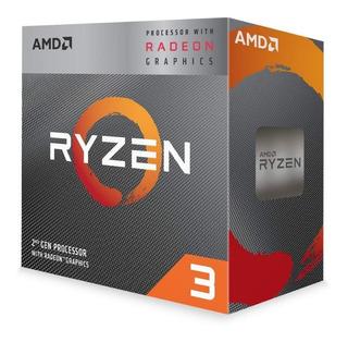 Procesador Ryzen 3 3200g 3.6ghz Amd 4cores Am4 Radeon Vega 8