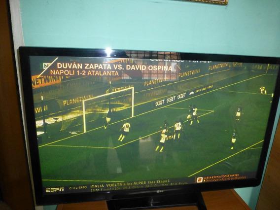 Televisor Lg De 42 Pulgadas Plasma Usado En Perfecto Estado