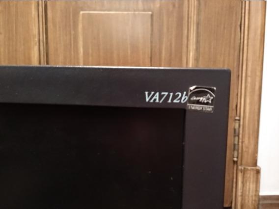 Monitor Lcd Viewsonic 17 Va712b Com Defeito