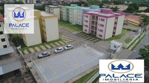 Apartamento Com 2 Dormitórios À Venda, 55 M² Por R$ 150.000 - Jardim Santa Izabel - Hortolândia/sp - Ap0684