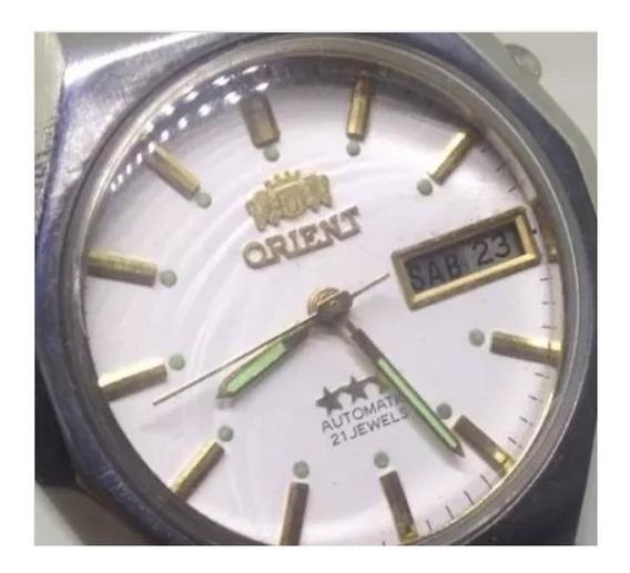 Relógio De Pulso Orient Masculino Automático U01553 Webclock