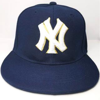Gorra Yankees Ny Azul Snapback Para Adulto Unitalla Envío