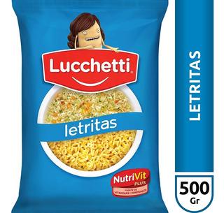 Fideos Letritas Lucchetti X500 Gr