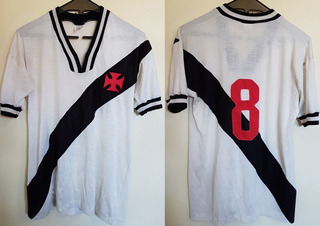 Camisa Oficial Futebol Vasco Da Gama Vegas # 8 Anos 70