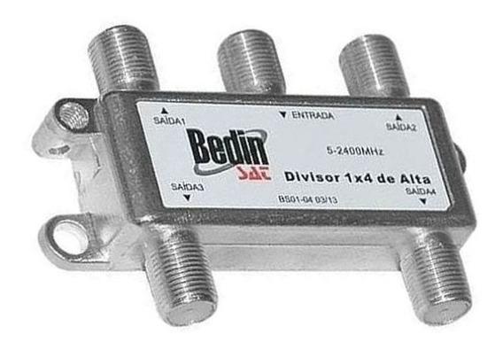 Divisor 1x4 De Alta 5-2400 Mhz