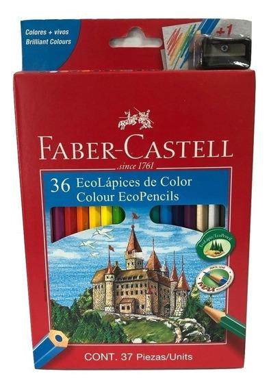Lapices De Colores Faber Castell X 36 Largos