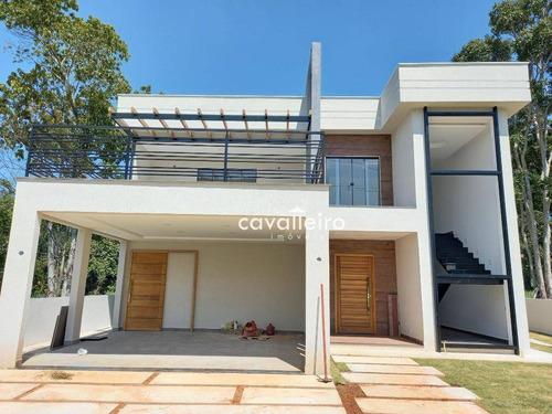 Casa Com 6 Dormitórios À Venda, 400 M²  - Ubatiba - Maricá/rj - Ca4220