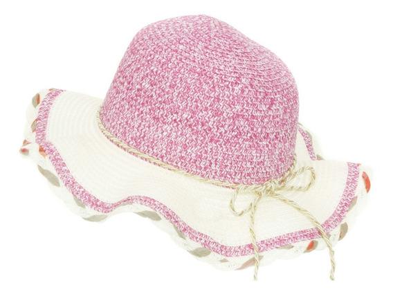 Sombrero De Playa Sol Para Niña Flexible Spn 223-010