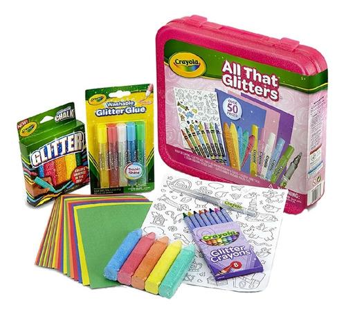 Crayola Kit Todo Lo Que Brilla Es Arte