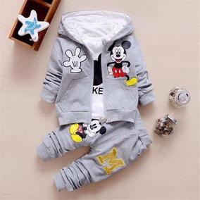 Conjunto Moletom Mickey 12 Meses Bebê