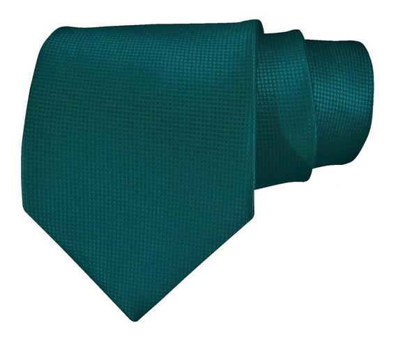 Corbata Color Verde Esmeralda Para Caballero Sp0002