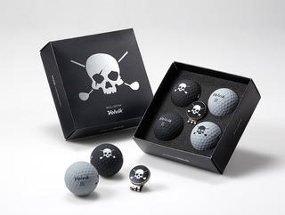 Volvik Pelota De Golf Skull Edition
