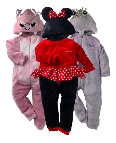 Kit 3 Mamelucos Disney Angel, Minnie, Boo A Precio