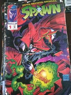 Coleção De Revista Spawn - 42 Revistas E Com A Número 01