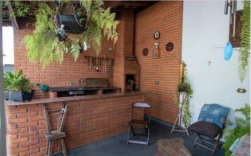 Imagem 1 de 13 de Casa Com 3 Dormitórios À Venda, 200 M² Por R$ 425.000,00 - Jardim Santo Alberto - Santo André/sp - Ca0902