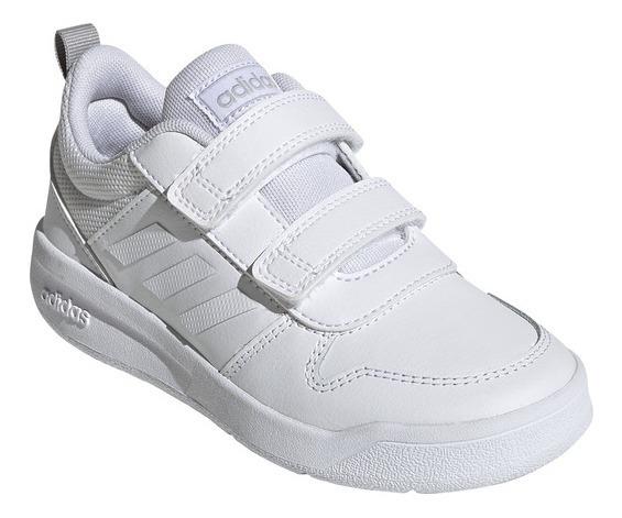 Zapatilla adidas Tensaur C Kids Blanco/blanco