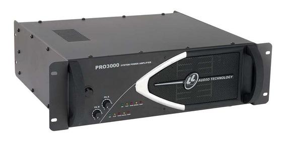 Amplificador Potencia Ll Audio Pro 3000 Plus 750wrms, Bivolt