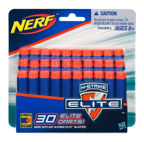 Paquete De 30 Dardos Para Lanzadores Nerfstrike Elite Hasbro