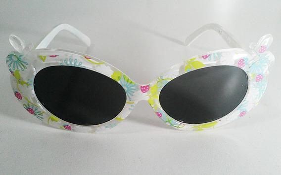 Óculos De Sol Infantil Proteção Uv400 - Flores E Frutas