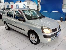 Renault Clio Sedan Privilege - Financiamos Em Ate 48x - 2004