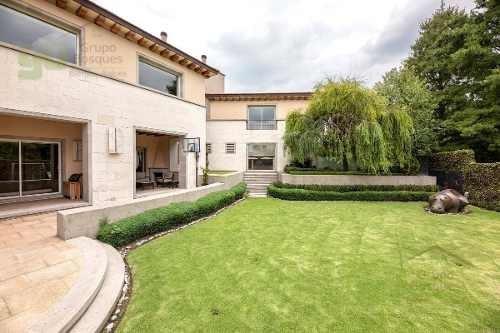 Casa En Venta En Condominio De 6 Recamaras En Residencial La Loma, Santa Fe La Loma, Cdmx