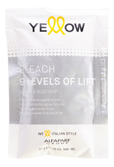 Yellow New Color Bleaching Powder Polvo Decolorante 50grs