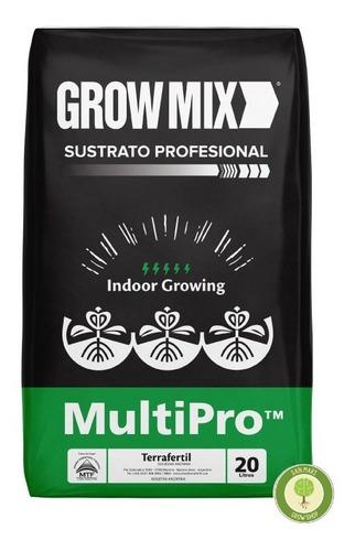 Sustrato Grow Mix Multipro 20 Lt. / Terrafertil