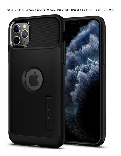 Apple iPhone 11 Pro Max Spigen Slim Armor Carcasa Funda Case