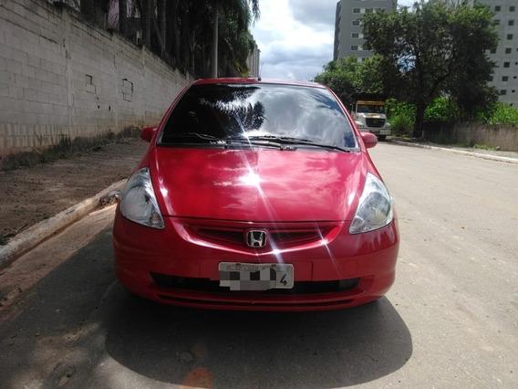 Honda Fit Lx 1.4 8v 4p 2004 Vermelho Câmbio Manual, Gasolina