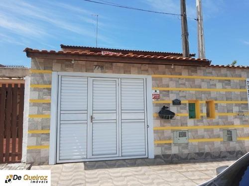 Imagem 1 de 24 de Sobrado Em Mongaguá, Bairro Itaóca, Geminada, Lado Praia , 3 Dormitórios Sendo 2 Suítes, Sala, Cozinha, Banheiro, , Churrasqueira, Garagem, Terraço, - 6294 - 69557877