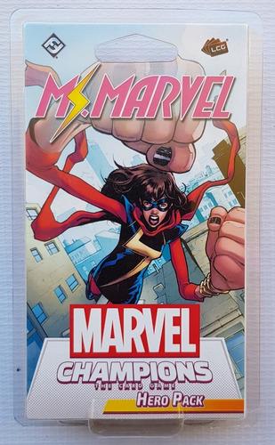 Marvel Champions Card Game Ms. Marvel Hero Pack Nuevo !!!