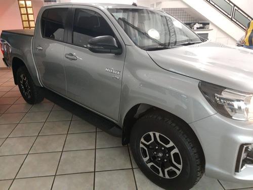 Imagem 1 de 9 de Toyota Hilux Caminhonete 2.7 16v 4p Sr Flex Cabine Dupla Aut