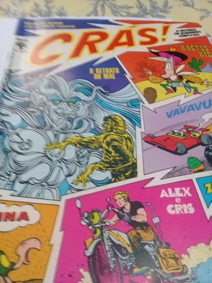 Revista Crás! No.1. Ano 1974. Muito Bem Conservada.
