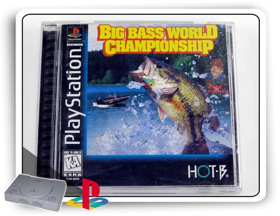 Big Bass World Championship Original Playstation 1 Ps1