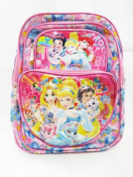 Mochila Infantil Princesas Disney 41 Cm