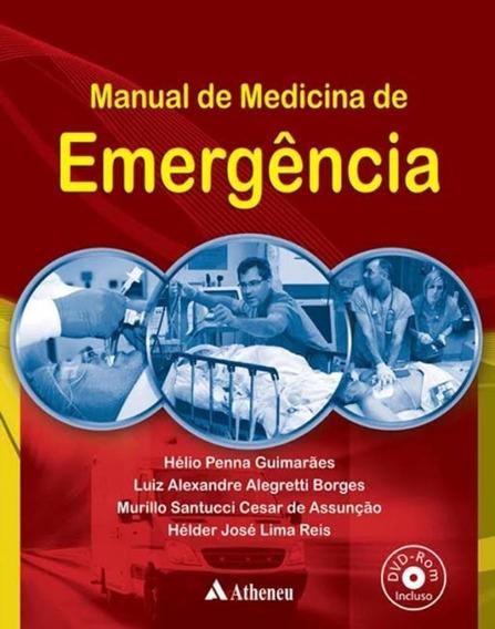 Manual De Medicina De Emergencia Com Dvd-rom - 1ª Edicao