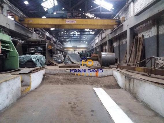 Vendo Galpão Industrial 2.227 M² Na Moóca - Ga0010