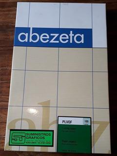 Papel Vegetal Oficio Para Impresoras Láser Abezeta X 250 Hjs