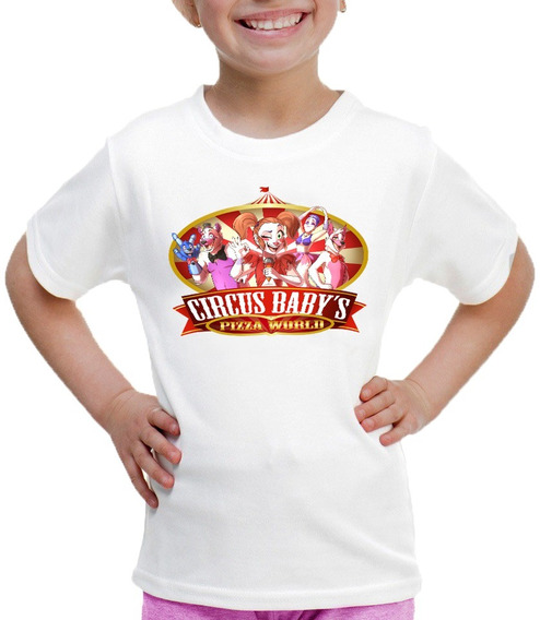 Playera Para Niñas Estampado De Circus Babys