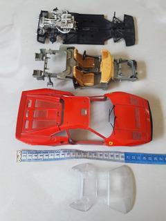 Sucata Miniatura Ferrari Gto 1984 Bburago Escala 1/18 Leia