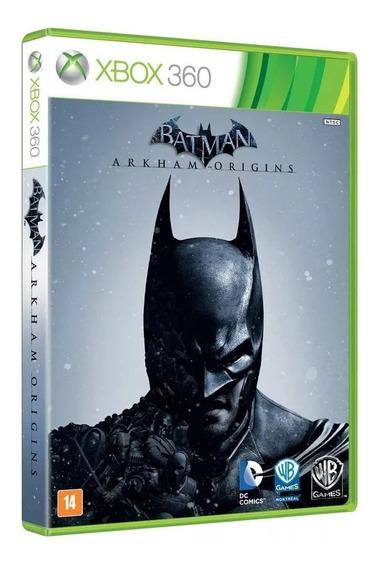 Jogo Batman Arkhan Origins Xbox 360 Original Mídia Física