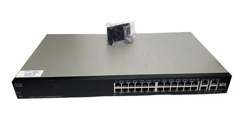 Switch Cisco Sf 300 24portas 10/100 Gerenciável 4x Giga 2sfp