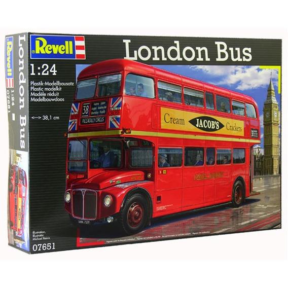Bus Inglés Colectivo Para Armar Maqueta Esc 1/24 Revell 7651