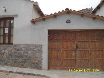 Alquiler De Casa Purmamarca